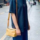帆布側背包-簡約純色方型斜背女單肩包4色73xo47【時尚巴黎】