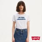 Levis 女款 短袖T恤 / 中短版 ...