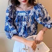 [預購+現貨]方領葉子花衫(2色)-上衣-72702176 -pipima-53