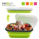 Lexngo可折疊快餐盒中 (黃/橘/綠/粉)