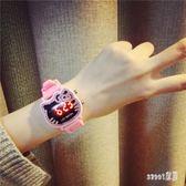 兒童手錶3-12歲兒童中小大童寶寶幼兒女孩卡通果凍糖果色 LR9009【Sweet家居】