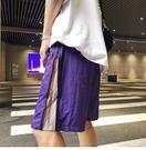 FINDSENSE H1 2018 夏季 新款 男 薄款 個性 側邊拉鏈 舒適透