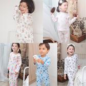 零碼出清薄長袖套裝 兒童睡衣 居家套裝 兒童套裝 卡通居家服70119