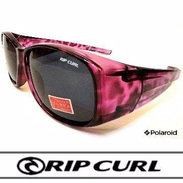 [Rip Curl] UF9412/抗藍光抗UV保麗萊偏光直戴式包鏡/紫豹/騎車.近視.戶外族專用