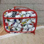 日本 skater Hello Kitty 尿布外出收納包尿布袋 濕紙巾袋  -超級BABY