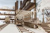 Ugears火車全系列豪華組 烏克蘭自走精品模型 全套特惠組 發條自動機械
