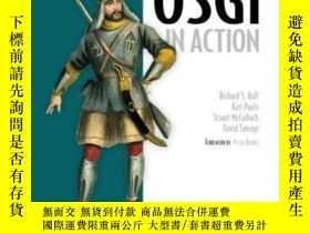 二手書博民逛書店Osgi罕見In ActionY364682 Richard Hall Manning Publication