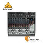 16軌數位效果混音器 德國  Behringer XENYX X2222USB【X2222】