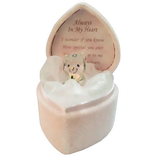 【Loving 捧花天使熊】水晶玻璃,獨家販售的精緻禮物!