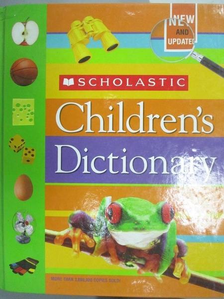 【書寶二手書T9/兒童文學_QXR】Scholastic Children s Dictionary_Not Available (NA)