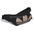 adidas 腰包 Adicolor Trefoil Waist Bag 黑 金 男女款 斜背包 運動休閒 【PUMP306】 FT8917