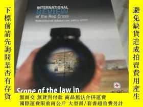 二手書博民逛書店INTERNATIONAL罕見REVIEW of the Red Cross Scope of the law i