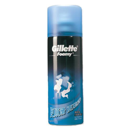 Gillette吉列刮鬍泡(薄荷)210g【康是美】