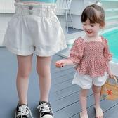 女童短褲 女童短褲夏裝夏季時尚正韓洋氣寶寶兒童寬鬆休閒褲子-Ballet朵朵
