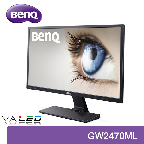 【免運費】BenQ 明基 GW2470ML 24型 顯示器 / VA面板 / 智慧低藍光 / 不閃屏