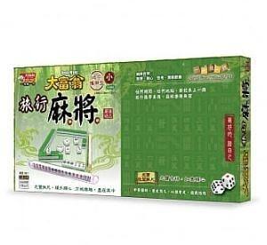 『高雄龐奇桌遊』 大富翁 旅遊麻將(小) 繁體中文版 正版桌上遊戲專賣店
