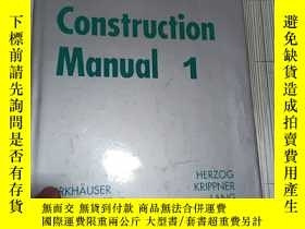 二手書博民逛書店Facade罕見Construction Manual 1Y269417 Thomas Herzog;Rola