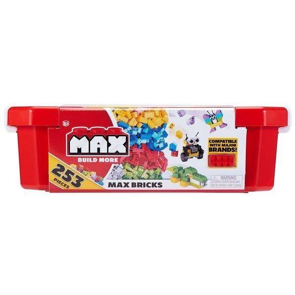 MAX BUILD MORE創意積木 歡樂桶 含253塊 相容LEGO