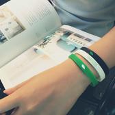 手環:原創ACBOZZO小清新硅膠腕帶情侶款  【新飾界】 新飾界