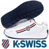 【K-SWISS】Enstev時尚運動鞋-男-白/藍/紅(0914-130)