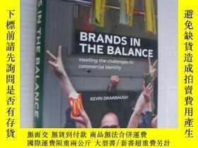 二手書博民逛書店品牌的推廣Brands罕見in the balance:meet
