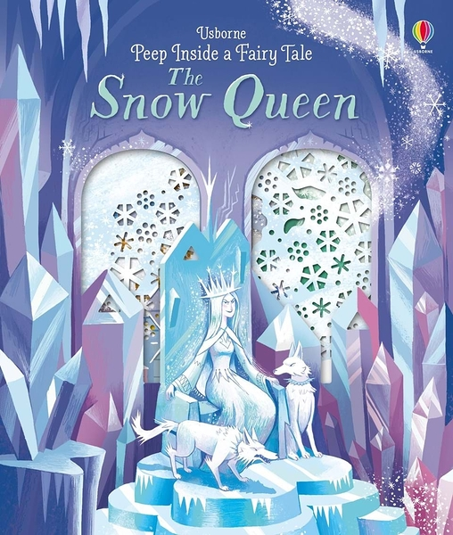 Peep Inside A Fairy Tale:The Snow Queen 冰雪女王 瞧瞧看翻翻操作書