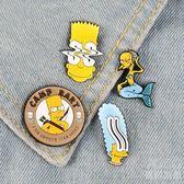 胸針可愛卡通日繫女學生書包別針裝飾創意百搭徽章 優尚良品