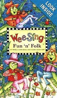 【麥克書店】WEE SING FUN 'N' FOLK /英文歌譜附CD《兒童歌謠》