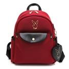 PLAYBOY - 後背包 Smart系列 - 紅色