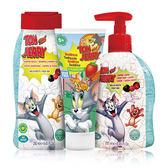 【義大利原裝進口 Tom & Jerry 】洗髮沐浴牙膏組(洗髮+潔膚露+牙膏)