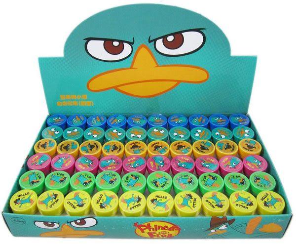 【卡漫城】兒童玩具 Ferb 印章 ㊣版 鴨嘴獸 飛哥與小佛 一組 6 個