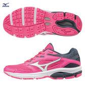 Mizuno 美津濃   WAVE SURGE 女慢跑鞋  (粉) 透氣 舒適 J1GD171316 【胖媛的店】