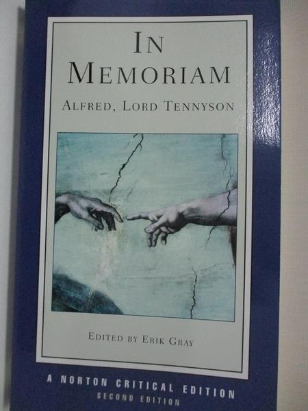 【書寶二手書T1/原文小說_IL4】In Memoriam: Authoritative Text : Criticism