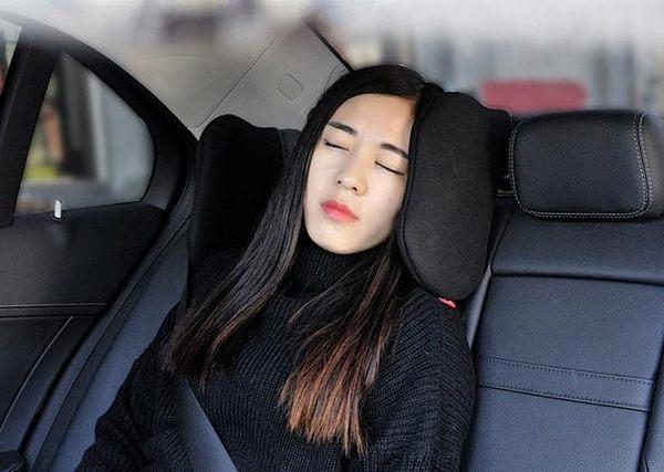 【SG326】車用舒適可調節側睡頭枕 車內睡眠頭枕 旅行汽車頭枕可任意旋轉車用頭靠 車載護頸枕