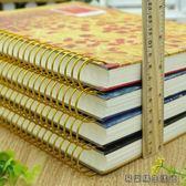 超加厚150張B5側翻螺旋線圈記事本