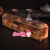 印度香盒 小號香盒 香具 手工藝鏤空 芒果木線香臥式木香【庫奇小舖】