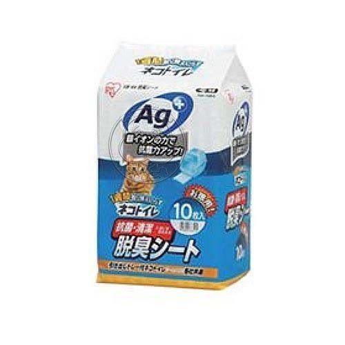 【zoo寵物商城】 【IRIS】TIO-530貓砂盆專用抗菌尿布TIH-10AG*1包