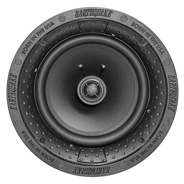 美國 Earthquake R650 無邊框網罩嵌入式喇叭(一組兩支)