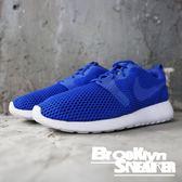 NIKE ROSHE ONE HYP BR 寶藍網面 透氣 慢跑 男女 情侶鞋 (布魯克林) 833125-401