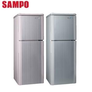 SAMPO 聲寶 140公升 雙門冰箱 SR-A14Q(S6) 典藏銀 / A14Q(R8) 彩虹粉