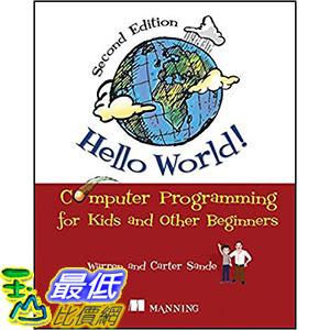 [106美國直購] 2017美國暢銷兒童書 Hello World!: Computer Programming for Kids and Other Beginners