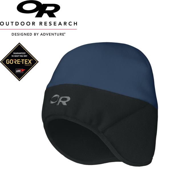 【Outdoor Research 美國 KIDS`S ALPINE HAT童防風透氣保暖護耳帽《深藍》】243539/GORE-TEX/防風透氣