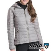 【KUHL】Spyfire女抗風連帽鵝絨外套 K2132 『石英灰』冬季 禦寒 防風 防水 保暖 修身 長版 羽絨 外套
