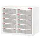 【樹德】A4-210H白櫃/明抽五層雙排效率櫃