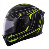 【東門城】SBK 速百克 RADER 雷達(黑黃) 全罩式安全帽 雙鏡片