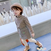 女童打底衫韓版洋氣加厚t恤小女孩高領長袖兒童上衣 奇思妙想屋