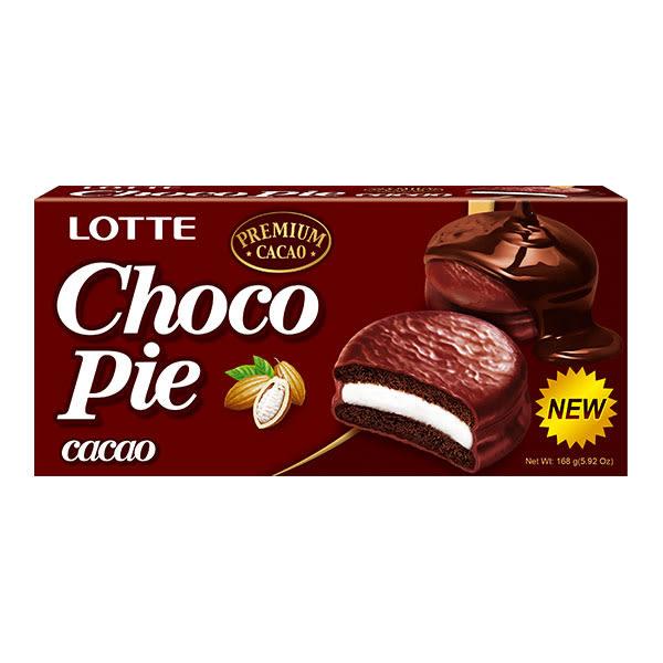 樂天黑巧克力派168g 【康是美】
