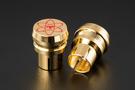 《名展影音》TELOS 全新思維 RCA 金屬量子保護蓋 明顯提升高頻細膩度及滑順感(一盒4顆)