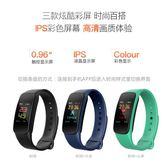 智慧手環 手錶 彩屏智慧心率血壓運動手環計步器來電提醒消息推送并顯示 全館免運