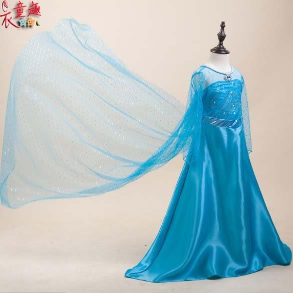 衣童趣 ♥女童 冰雪奇緣公主裝 畢業晚會 表演 正式場合 團體服 角色扮演童裝